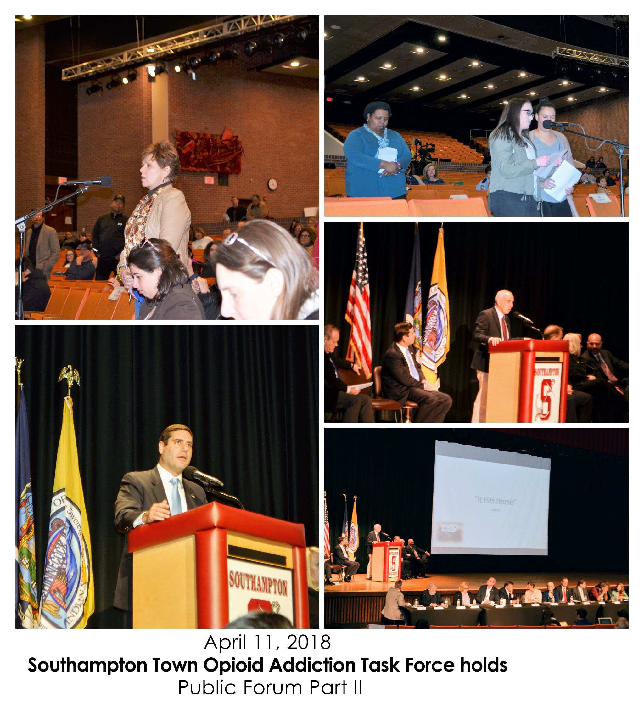 April 12, 2018 Southampton Town Opioid Addiction Task Force-COLLAGE