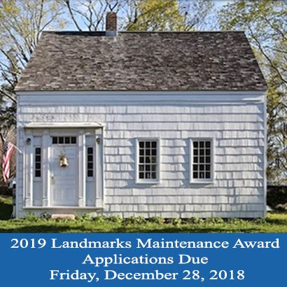 Landmarks Maintenance Award Program 2019
