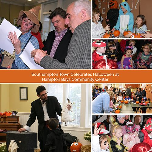 HALLOWEEN AT HAMPTON BAYS COMMUNITY CENTER