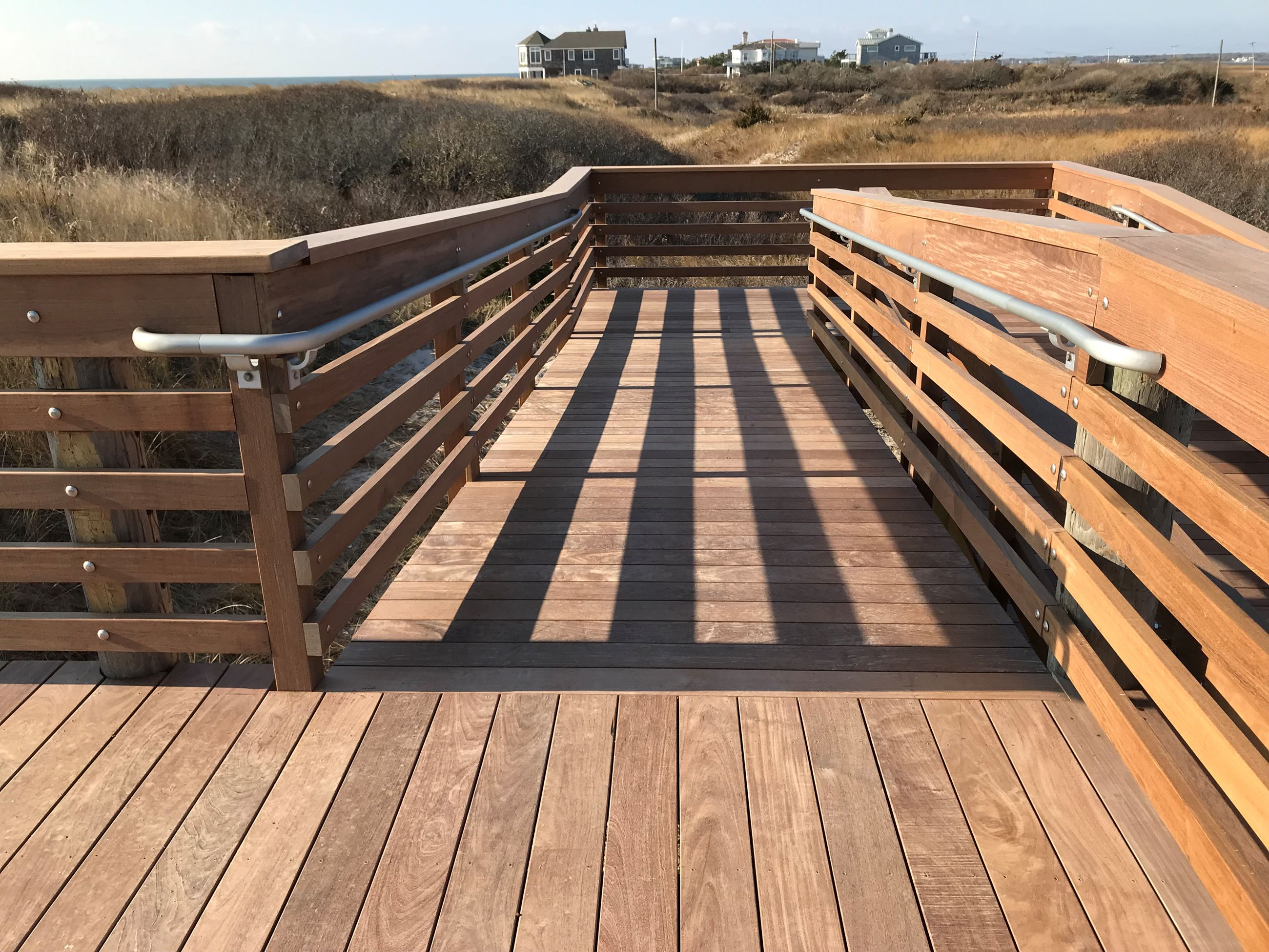 Hot Dog Beach walkway restored 1